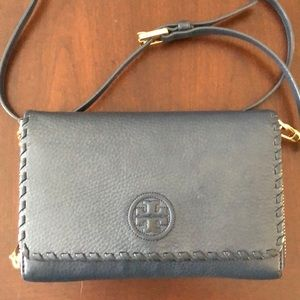 ‼️Tory Burch Blue Crossbody/Wallet‼️